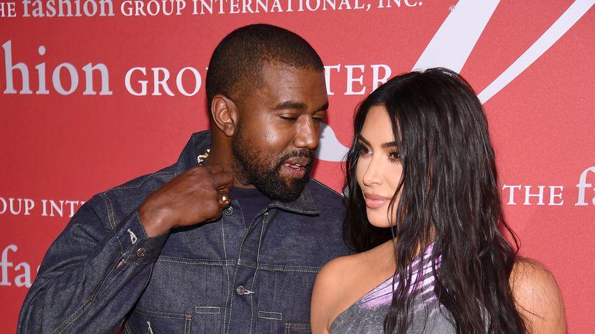 Kanye West und Kim Kardashian West