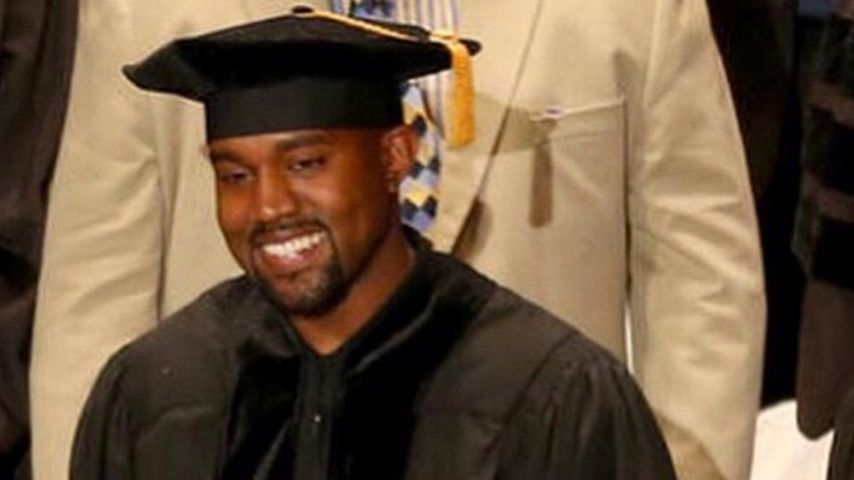 Kim platzt vor Stolz: Kanye West ist jetzt Doktor!