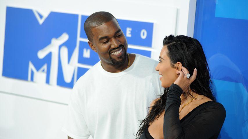 Kanye West und Kim Kardashian bei den MTV Video Music Awards 2016