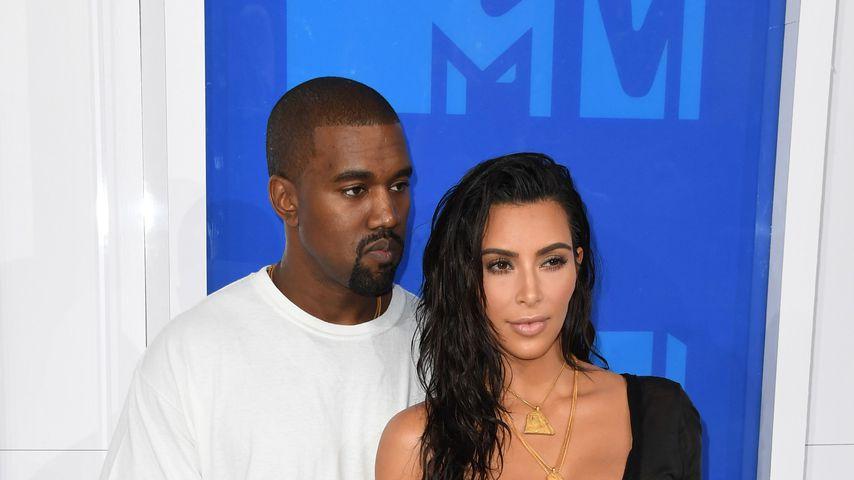 Kanye West und Kim Kardashian bei den MTV Video Music Awards