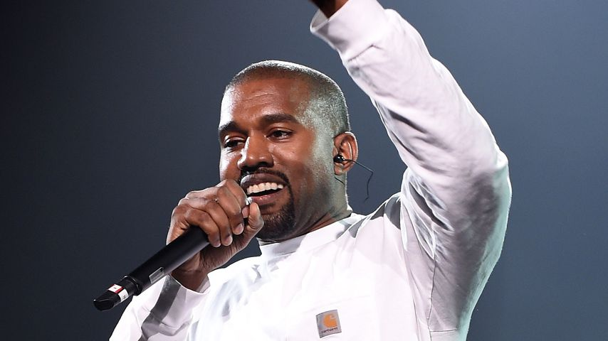 Kanye West performt im Madison Square Garden