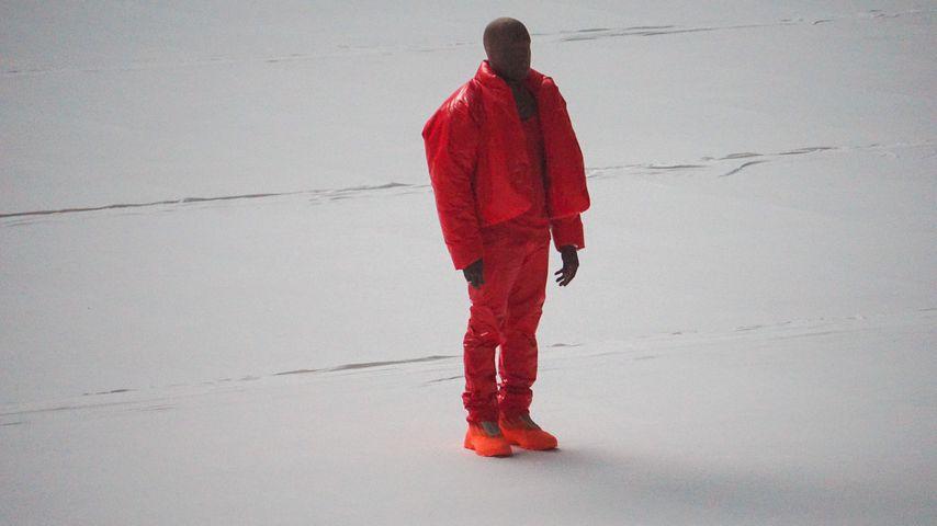 """Kanye West bei der Release-Party seines Albums """"Donda"""""""
