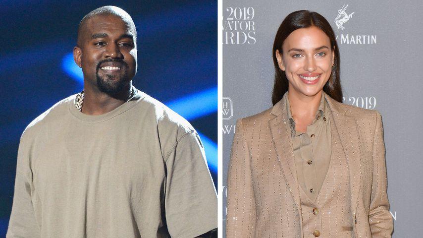 Nach Trennung von Kim: Kanye West soll Irina Shayk daten!