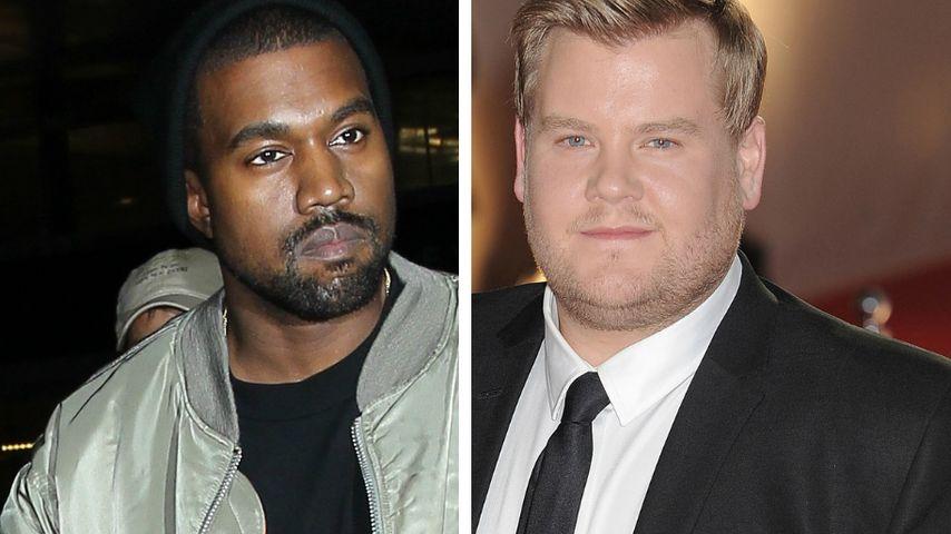 "Für ""Carpool Karaoke"": Kanye West gab James Corden 2 Körbe!"