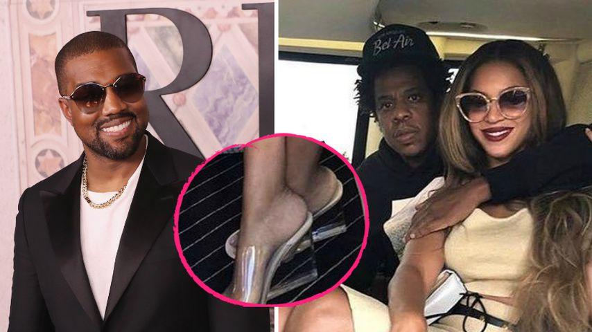 Wegen falschen Schuhen: Kanye beendet Beyoncé & Jay-Z-Beef