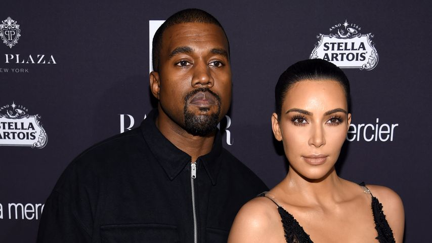 Kanye West und Kim Kardashian 2016 bei einer Fashion-Party