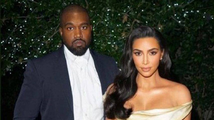 Kim Kardashian im goldenen Brautkleid bei P. Diddys Party!