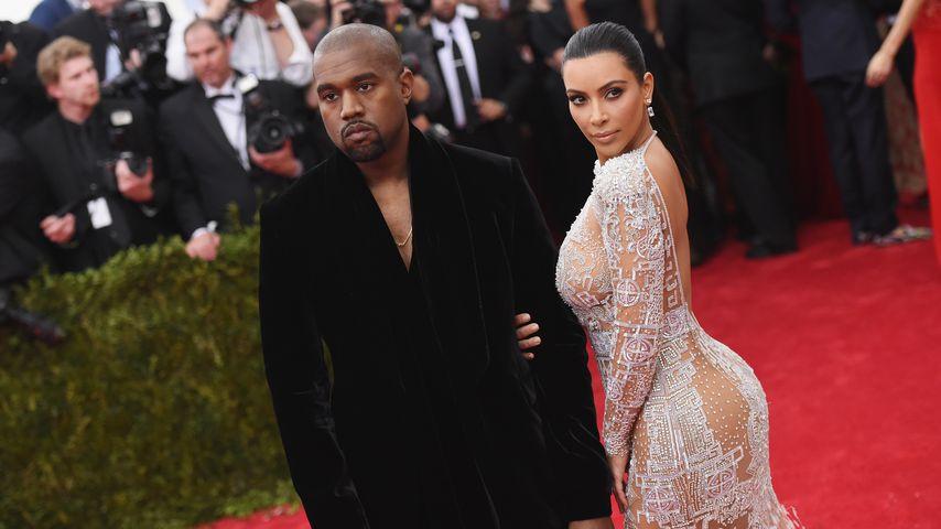 Kanye West und Kim Kardashian auf der Met-Gala 2015