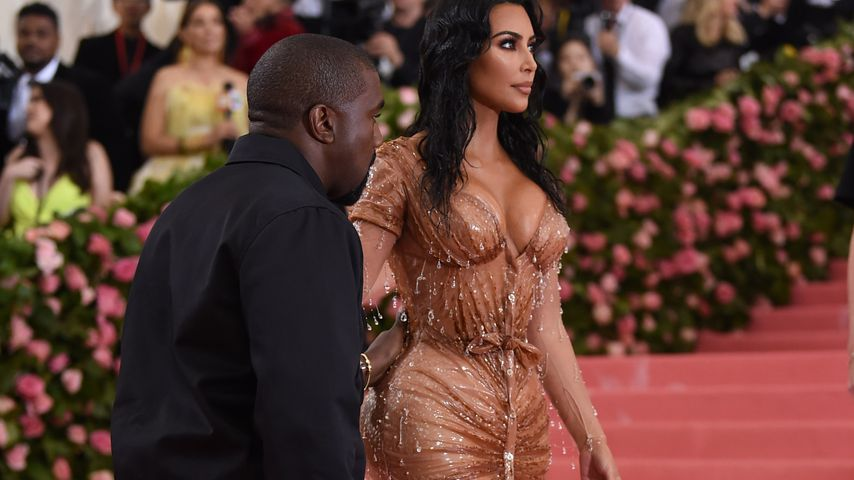 Kanye West und Kim Kardashian, 2019