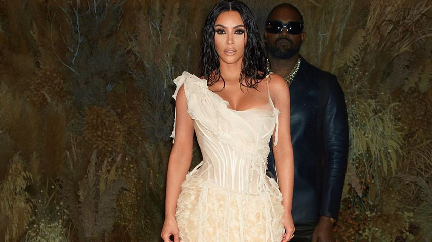 Kim Kardashian und Kanye West 2020