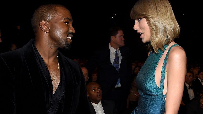Taylor Swift und Kanye West