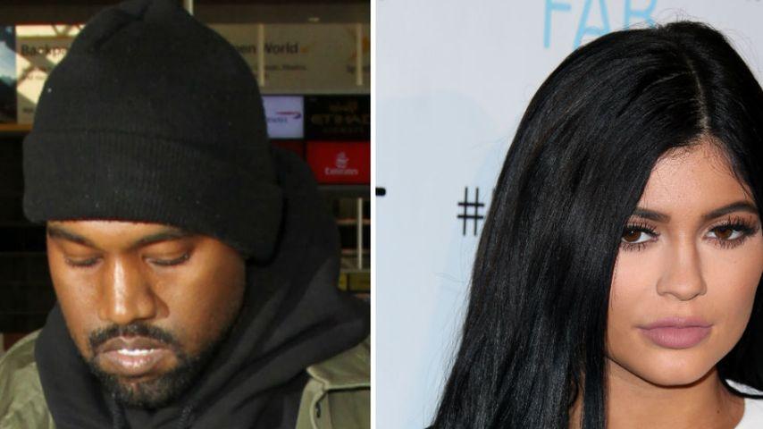 Kylie Jenner und Kanye West