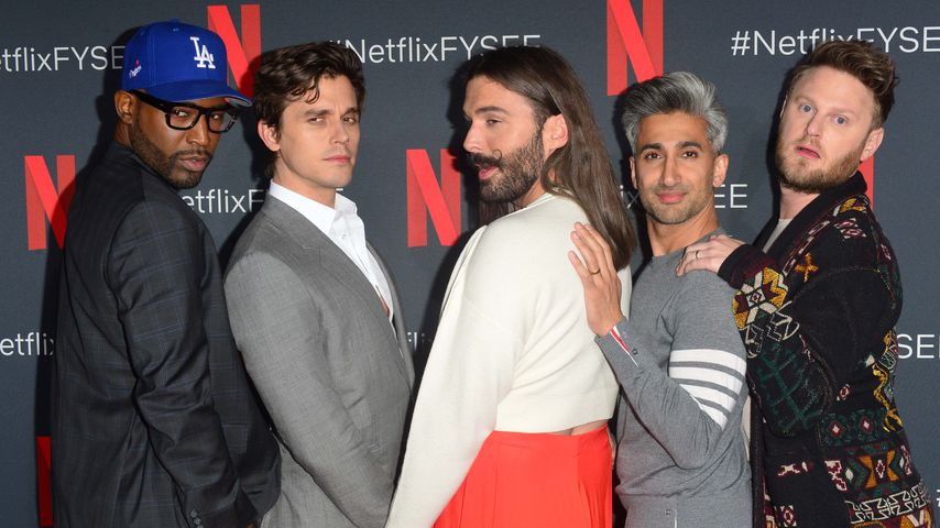 Karamo Brown, Antoni Porowski, Jonathan Van Ness, Tan France und Bobby Berk in Los Angeles, Mai 2019