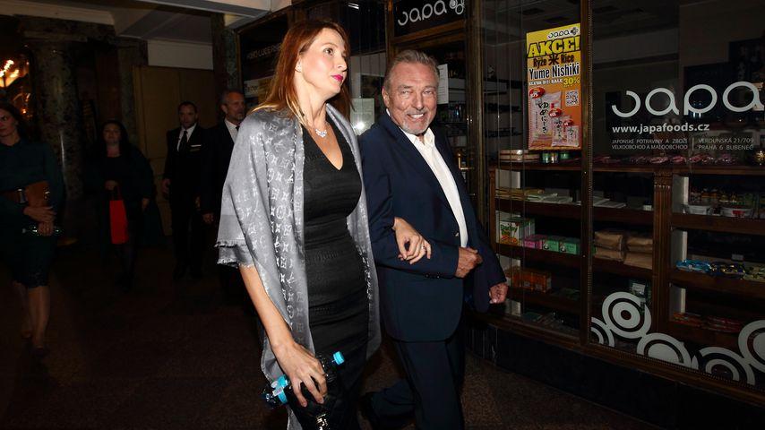 Karel Gott mit seiner Frau Ivana bei einer Veranstaltung 2016