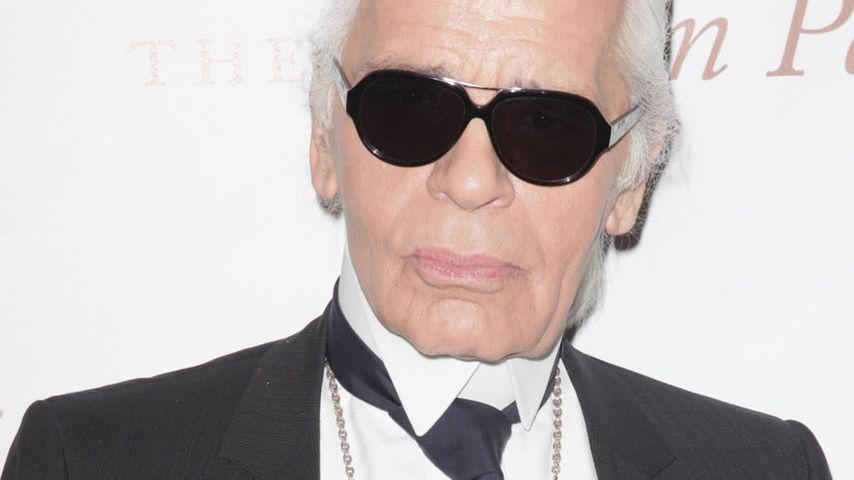 Karl Lagerfeld will niemals in Rente gehen