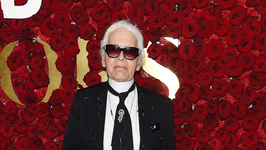 Karl Lagerfeld bei den WWD Honors 2017 in New York