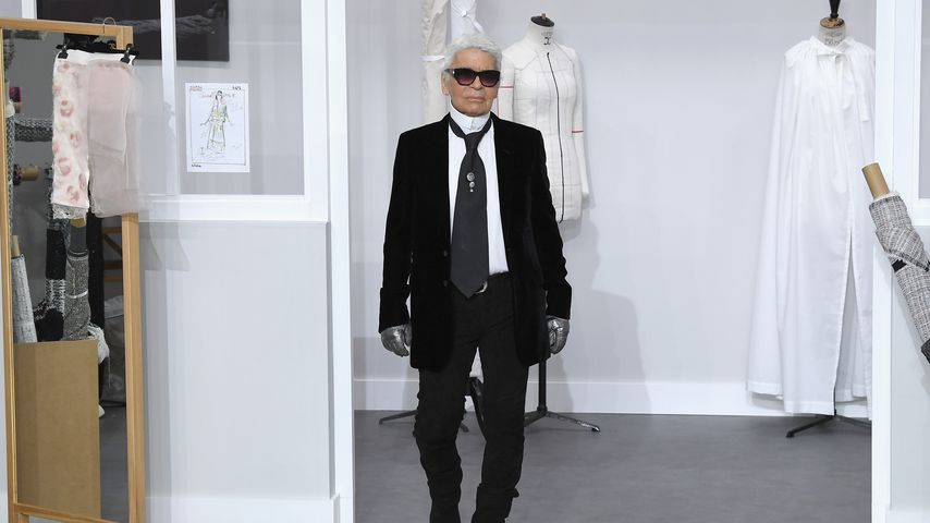 Karl Lagerfeld, 2016 in Paris