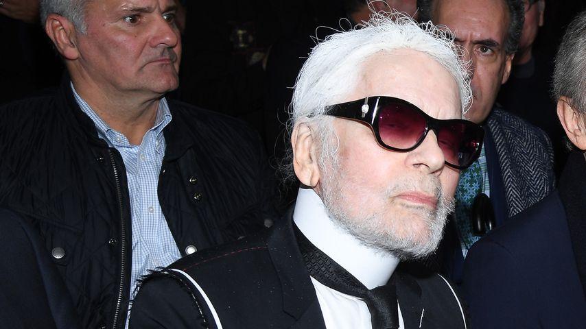 Karl Lagerfeld: So abgehoben war die Chanel-Show