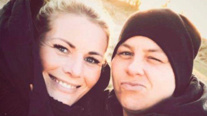 Seltener Foto-Moment: Kerstin Ott postet Selfie mit Ehefrau!