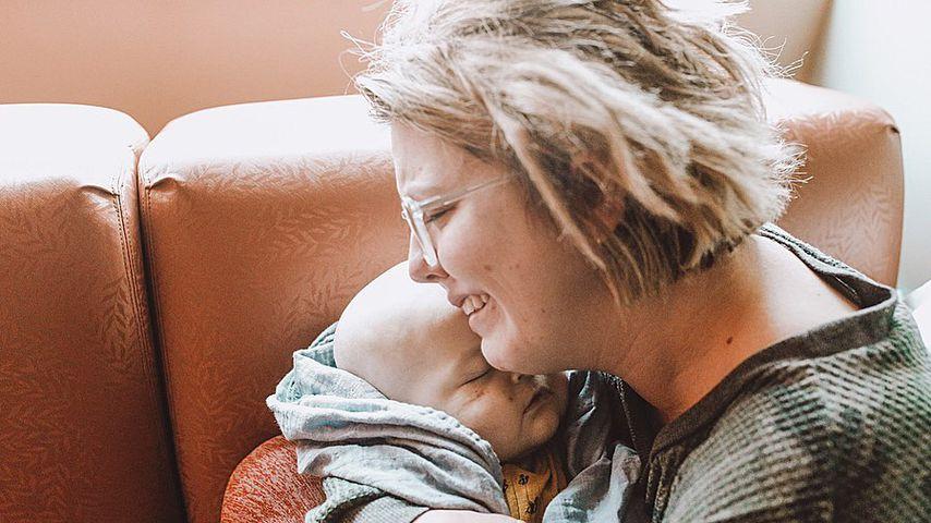 Kassady Bingham und ihr Sohn Milo