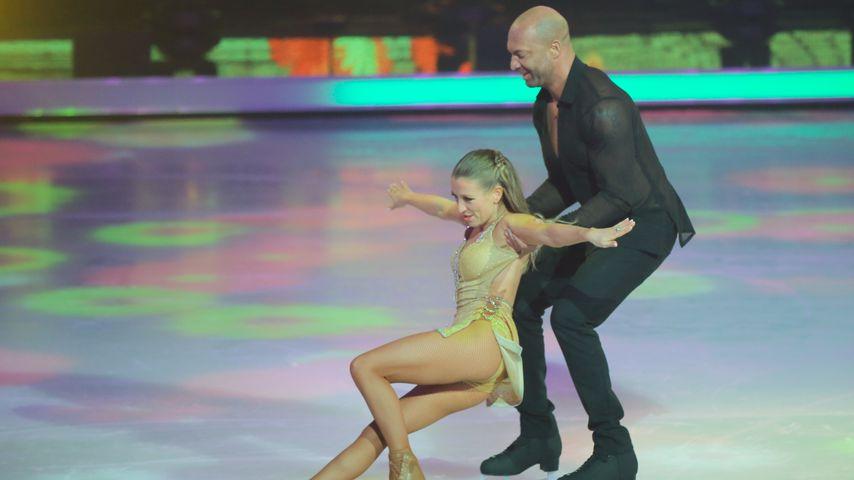 """Kat Rybkowski und Detlef Soost bei """"Dancin on Ice"""""""