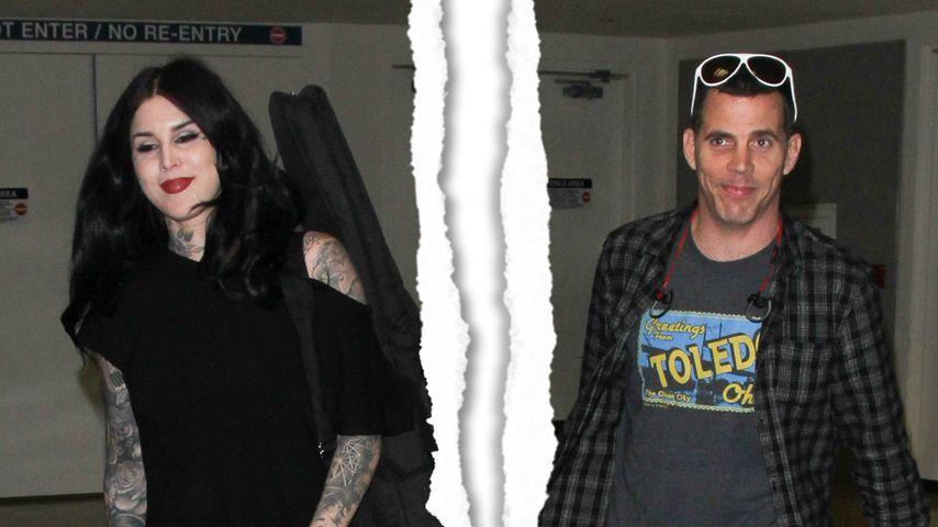 Liebes-Aus nach 3 Monaten: Steve-O & Kat Von D getrennt!