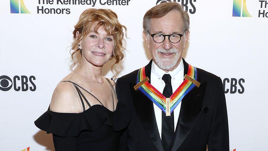 Kate Capshaw und Steven Spielberg in Washington, 2019