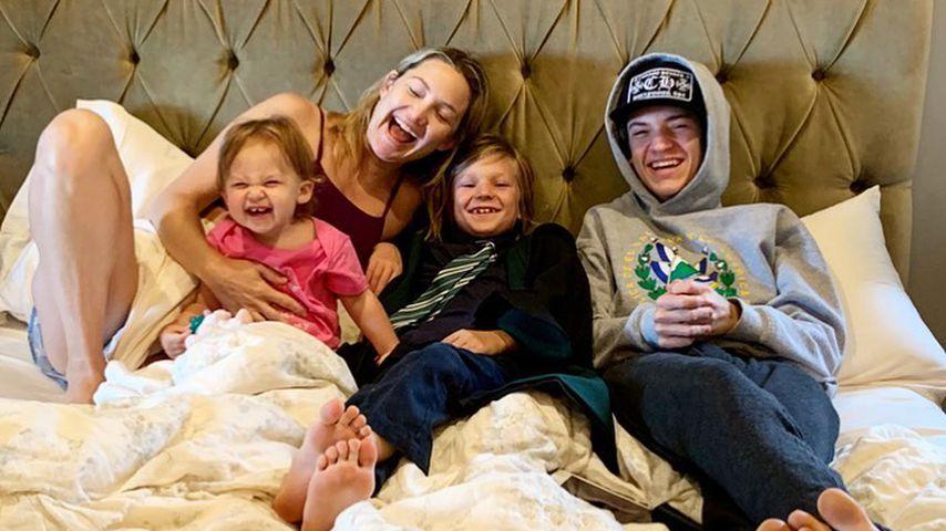 Kate Hudson und ihre Kinder, Rani, Bingham und Ryder