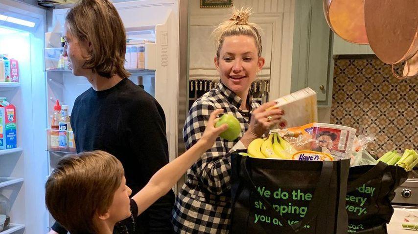 So groß ist Kate Hudsons ältester Sohn Ryder geworden!