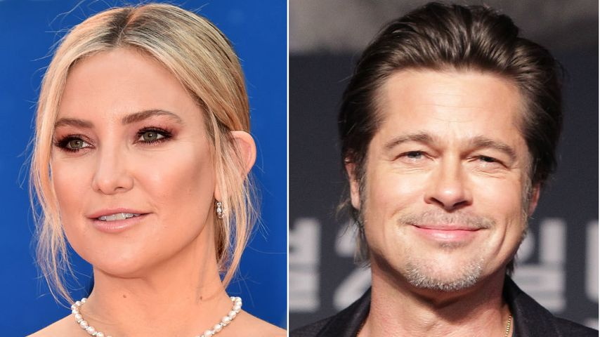 Kate Hudson gesteht: Sie möchte jetzt Brad Pitt daten!