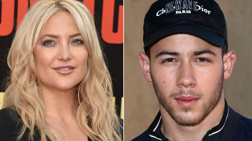Mama hat's ausgeplaudert: Kate Hudson datete Nick Jonas!