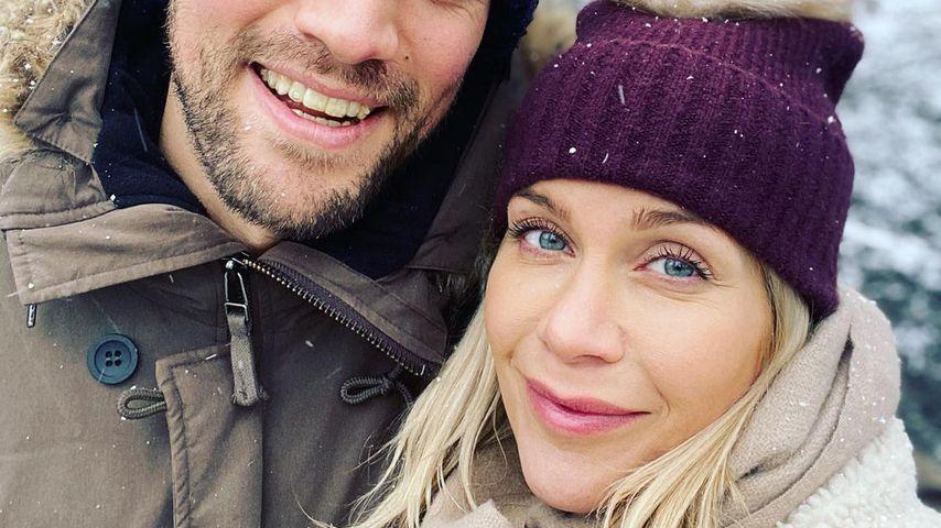 Kate Lawler und ihr Verlobter Martin, 2021