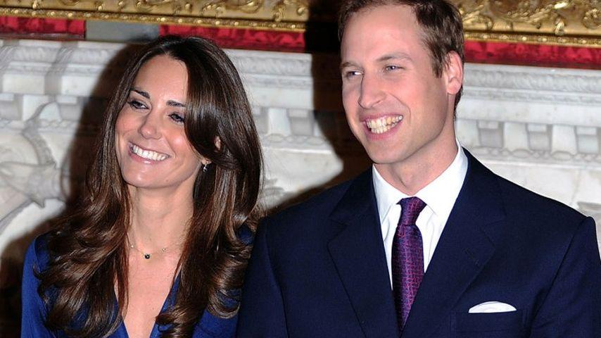 Tolle Erinnerung: Die Geschichte hinter Kates Verlobungsring