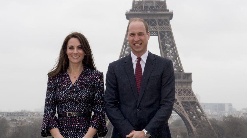 William & Kate: 1. offizieller Paris-Besuch seit Dianas Tod!