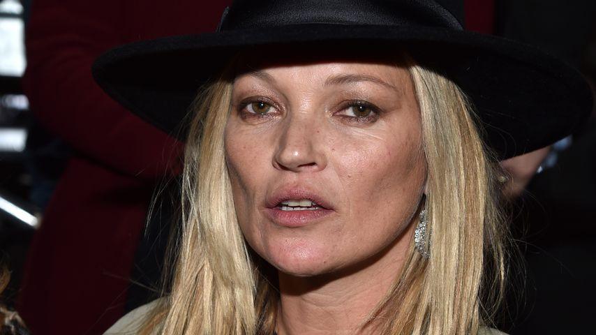 Kate Moss: Kein Ticket, dafür reichlich Promille