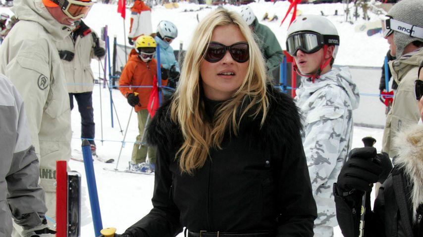Ski-Unfall: Kate Moss verletzt sich im Schweiz-Urlaub!