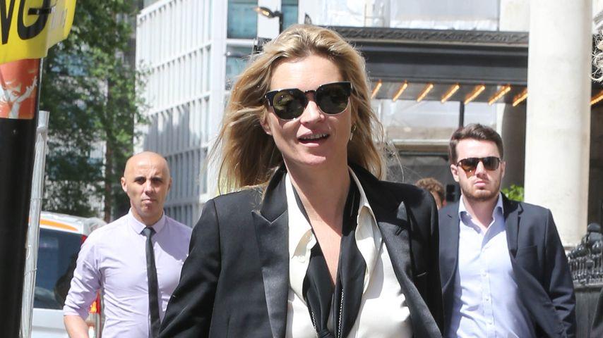 Ausraster: Darum wurde Kate Moss von der Polizei eskortiert