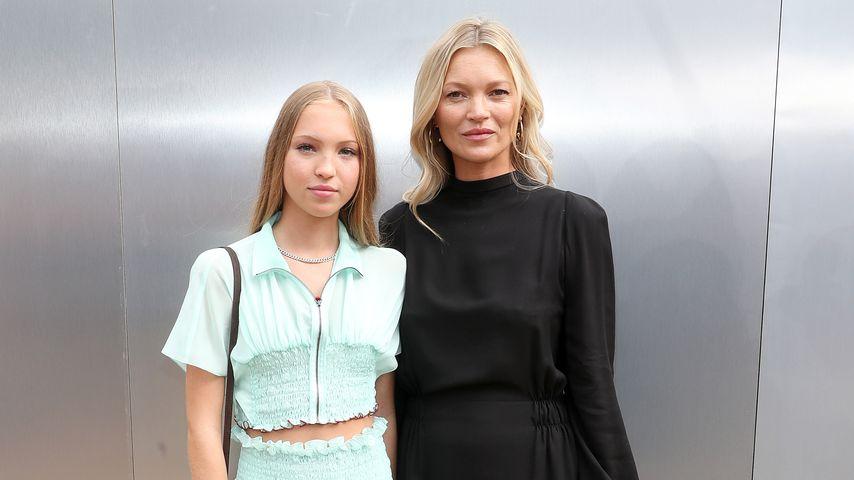 Model Kate Moss und Tochter Lila
