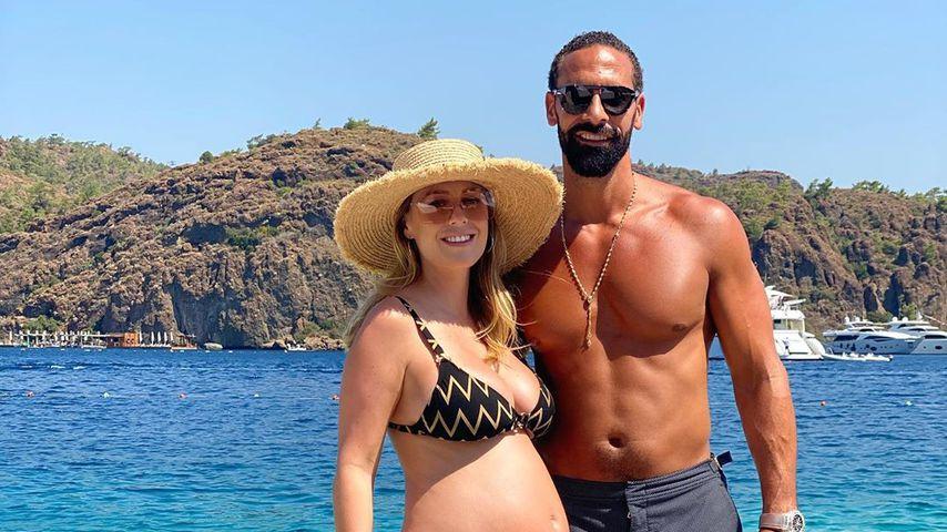 Bald-Eltern Kate und Rio Ferdinand verraten Babygeschlecht