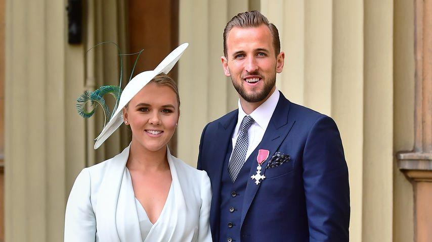 Kate und Harry Kane, März 2018