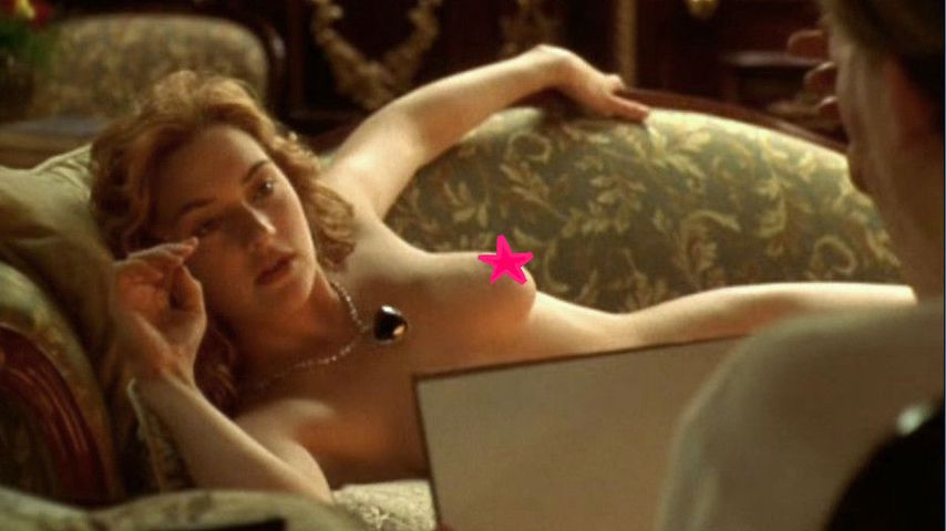 """Collage: Kate Winslet in """"Titanic"""""""