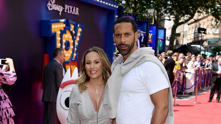 Heiraten Kate Wright und Rio Ferdinand dieses Wochenende?