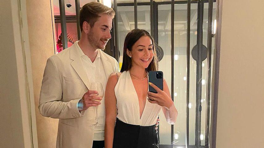 Katharina Eisenblut und Niko Kronenbitter im August 2021
