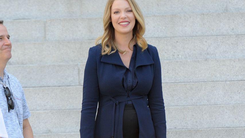 Katherine Heigl während ihrer Schwangerschaft