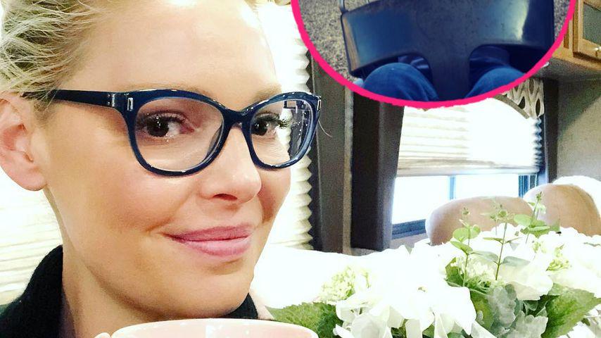 Ihr Söhnchen strahlt: Katherine Heigl ist megaglücklich!