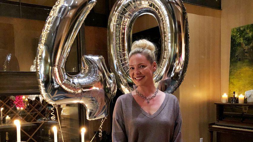 Keine Angst vorm Älterwerden: Katherine Heigl happy mit 40!