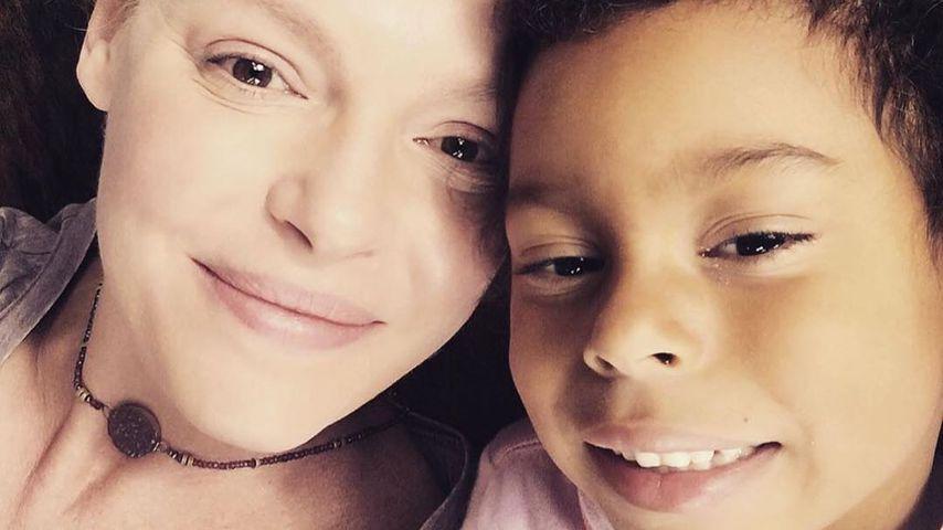 Schauspielerin Katherine Heigl mit ihrer Tochter Adalaide Kelley im Mai 2020