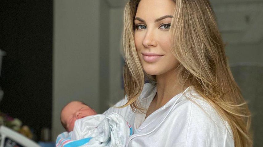 Baby-News! Model Katherine Webb ist wieder Mama geworden