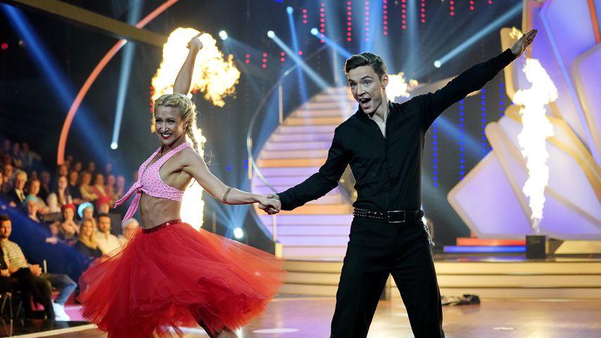 """Kathrin Menzinger und Heiko Lochmann, """"Let's Dance""""-Kandidaten 2018"""