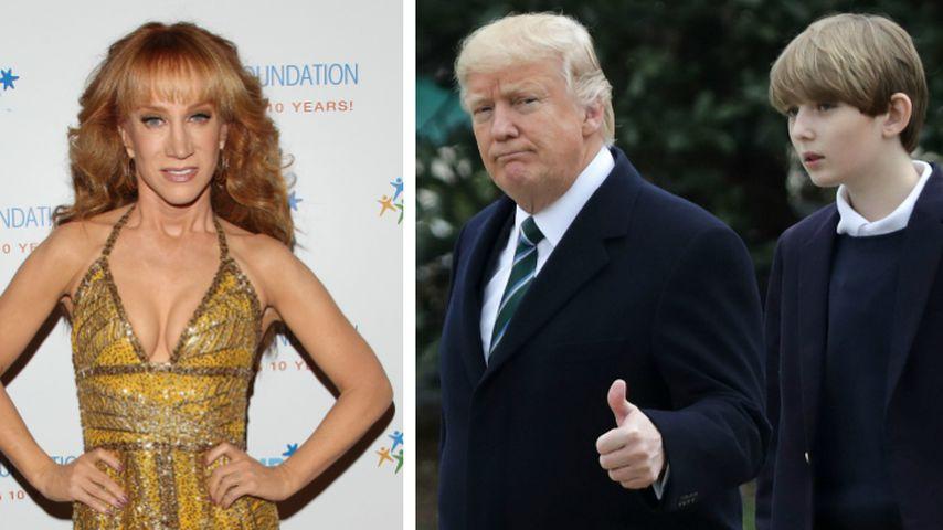 Blutiger Foto-Joke geht viral: Trumps Sohn leidet enorm!